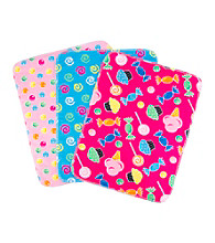 Trend Lab 3-pk. Flannel Burp Cloths - Candy