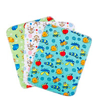 Trend Lab 3-pk. Flannel Burp Cloths - Bugs