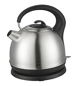 Sunpentown® Round Stainless Steel Cordless Kettle