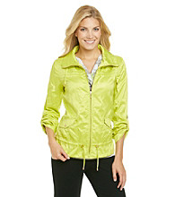 Laura Ashley® Lemongrass Crinkle Anorak Jacket
