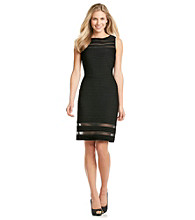 Adrianna Papell® Illusion Banded Sheath Dress