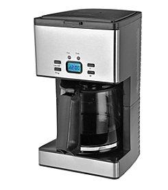 Kalorik 12-Cup Programmable Stainless Steel Coffee Maker