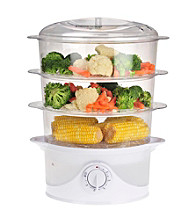 Kalorik Electric 3-Tier Food Steamer