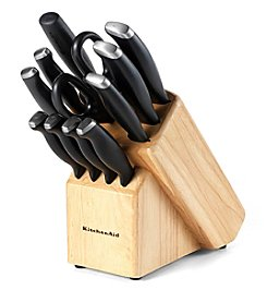 Kitchen Aid® Delrin 12-pc. Black Cutlery Set