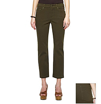 Jones New York Sport® Petites' Five-Pocket Cropped Jean