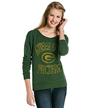 Junk Food Juniors' Packers Off Shoulder Fleece