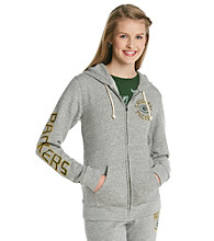 Junk Food Juniors' Packers Front Zip Hoodie