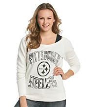 Junk Food Juniors' Steelers Off Shoulder Fleece