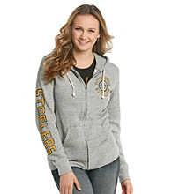 Junk Food Juniors' Steelers Front Zip Hoodie