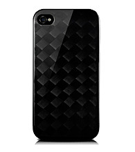 monCarbone Midnight Black Diamond iPhone 4/4S Case