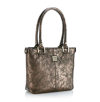 AK Anne Klein® Bronze Perfect Tote Small Shopper