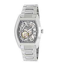Kenneth Cole New York® Men's Automatic Silver Stainless Steel Bracelet Watch