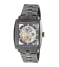 Kenneth Cole New York® Men's Automatic Gunmetal Stainless Steel Bracelet Watch