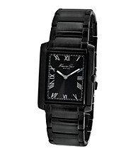 Kenneth Cole New York® Men's Black Automatic Stainless Steel Bracelet Watch