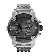 Diesel Silver Men's Little Daddy Watch