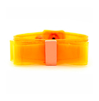 BCBGeneration™ Orange Neon Bow Bracelet