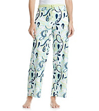 Jockey® Pucci Paisley Knit Pants - Green