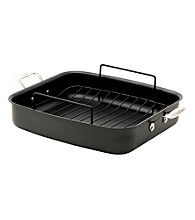 Emerilware® Hard Anodized Roaster with Non-Stick Rack