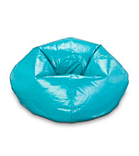 Ace Bayou Deep Aqua Vinyl Bean Bag