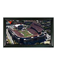 University of Texas Stadium Gridiron Photo by Highland Mint