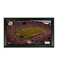 Louisiana State University Stadium Gridiron Photo by Highland Mint
