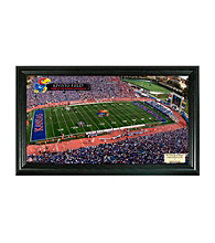 University of Kansas Stadium Gridiron Photo by Highland Mint