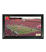University of Nebraska Stadium Gridiron Photo by Highland Mint