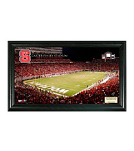 North Carolina State University Stadium Gridiron Photo by Highland Mint