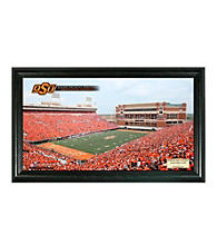 Oklahoma State University Stadium Gridiron Photo by Highland Mint