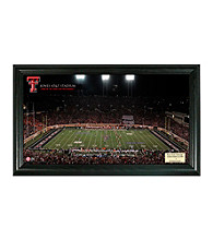 Texas Tech University  Stadium Gridiron Photo by Highland Mint
