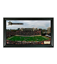 Vanderbilt University Stadium Gridiron Photo by Highland Mint