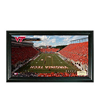 Virginia Tech Stadium Gridiron Photo by Highland Mint