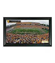 West Virginia University Stadium Gridiron Photo by Highland Mint