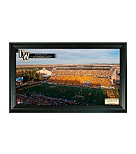 University of Wyoming Stadium Gridiron Photo by Highland Mint