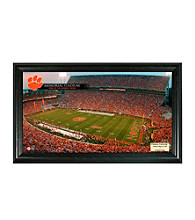 Clemson University Stadium Gridiron Photo by Highland Mint