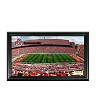 Ohio State University Stadium Gridiron Photo by Highland Mint