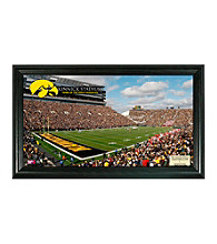University of Iowa Stadium Gridiron Photo by Highland Mint