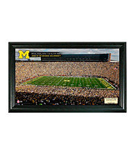University of Michigan Stadium Gridiron Photo by Highland Mint