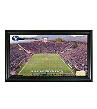 Brigham Young University Stadium Gridiron Photo by Highland Mint