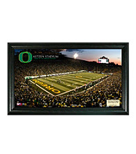 University of Oregon Stadium Gridiron Pano by Highland Mint