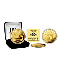 Atlanta Falcons 2012 Gold Game Coin by Highland Mint