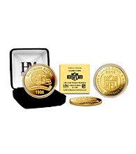 Baltimore Ravens 2012 Gold Game Coin by Highland Mint