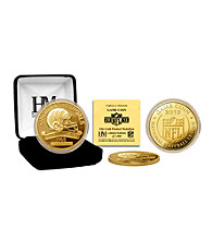 Cincinnati Bengals 2012 Gold Game Coin by Highland Mint