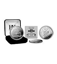 Detroit Lions 2012 Silver Game Coin by Highland Mint