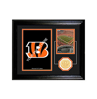 "Cincinnati Bengals ""Fan Memories"" Desktop Photo Mint by Highland Mint"