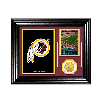 "Washington Redskins ""Fan Memories"" Desktop Photo Mint by Highland Mint"
