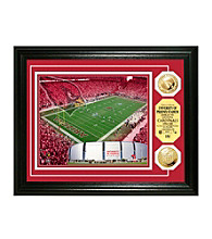 University of Phoenix Stadium Gold Coin Photomint by Highland Mint