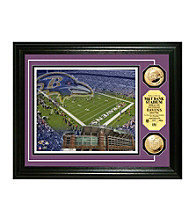 M&T Bank Stadium Gold Coin Photomint by Highland Mint