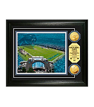 Bank of America Stadium Gold Coin Photomint by Highland Mint