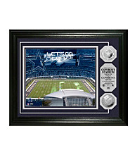 Cowboys Stadium Silver Coin Photomint by Highland Mint